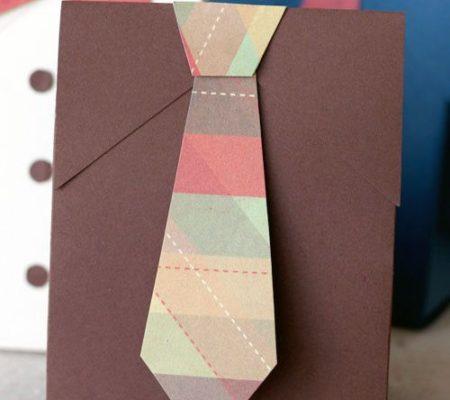 Упаковка в виде галстука