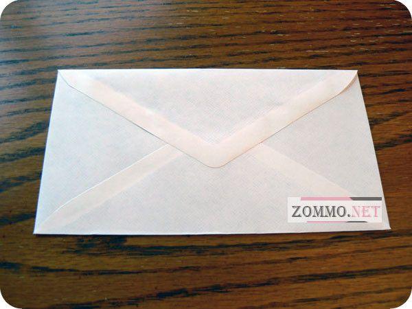 Склеиваем конверт