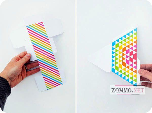 Шаблоны для бумажных коробочек