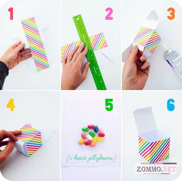Как сделать коробочку своими руками
