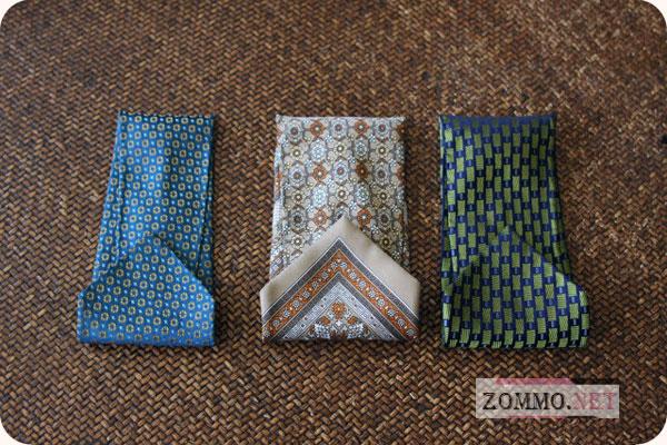 Чехлы для очков из галстука