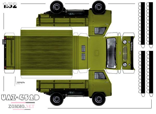 Грузовая машина УАЗ 452