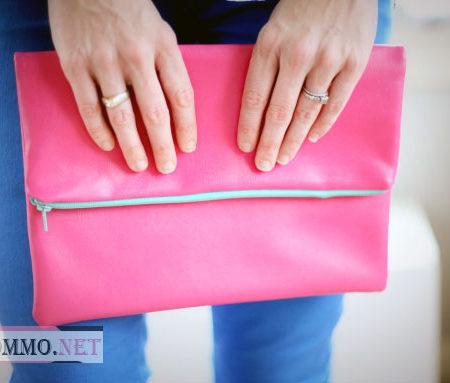 Модный женский клатч своими руками