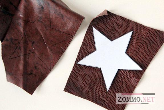 Звезда из кожи