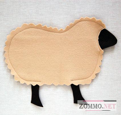 Сшиваем овечку