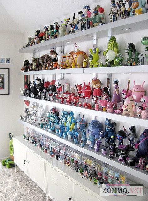 Коллекция аниме игрушек