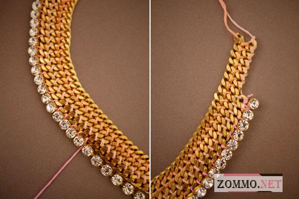 Ожерелье мастер класс