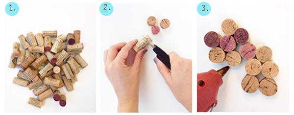 Как сделать коврик из винных пробок
