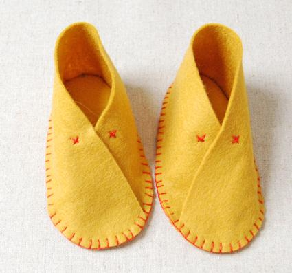 Детские тапочки для младенца
