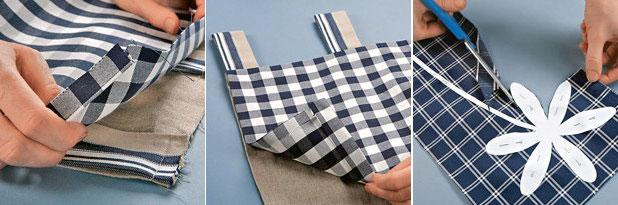Делаем кухонные занавески своими руками