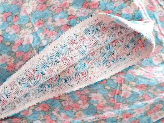 Сшиваем шарф