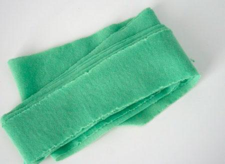 Полоска ткани джерси для подушки