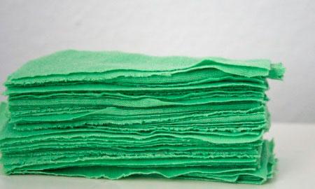 Нарезанная ткань джерси