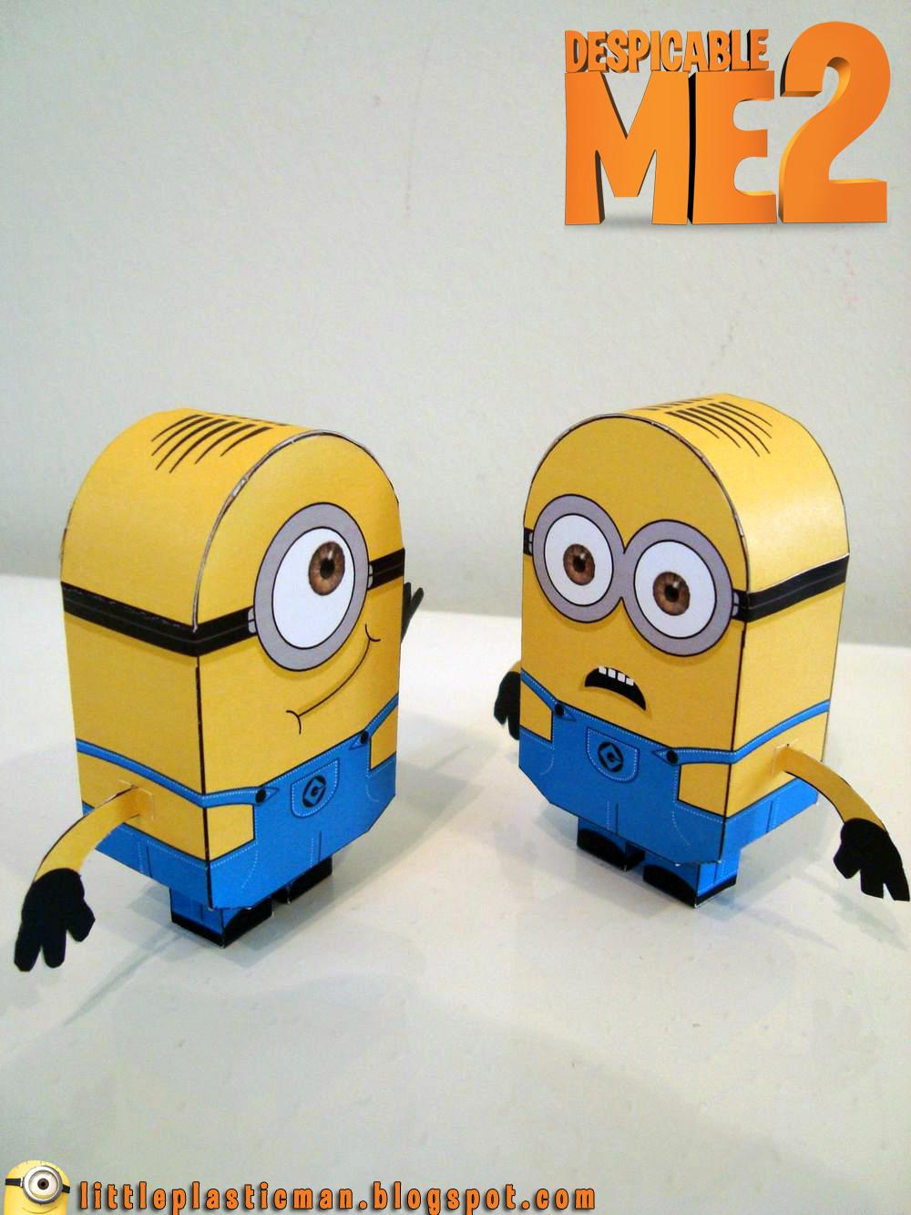 Миньоны 3Д