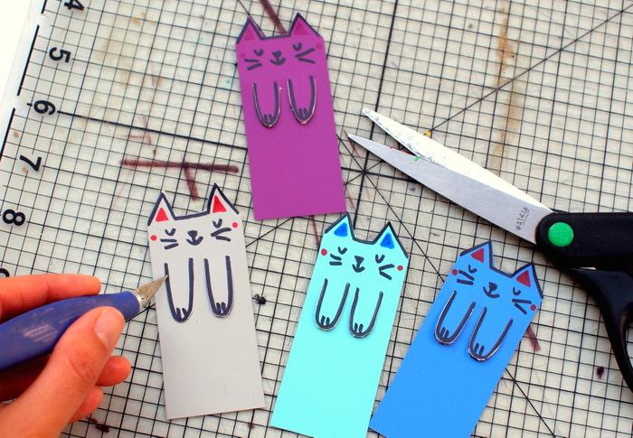 Котики закладки