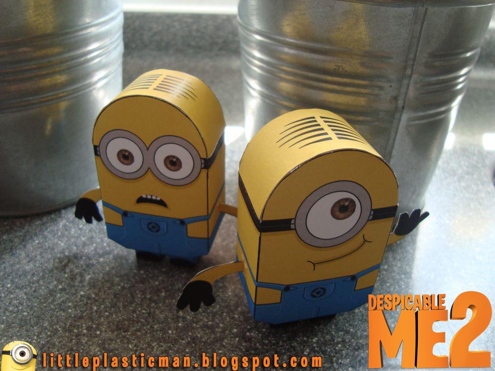 Детские игрушки из бумаги - Миньоны
