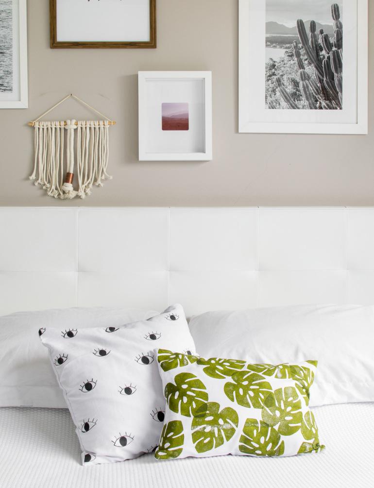 декор наволочки подушки