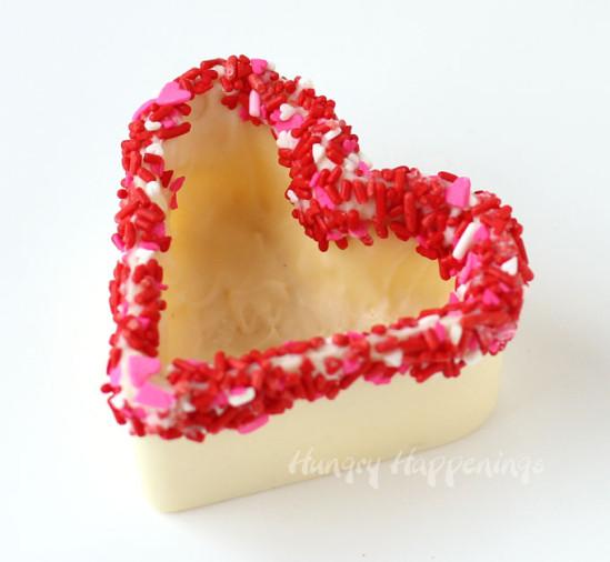 Шоколадный десерт для влюблённых 7