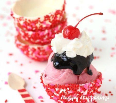 Шоколадный десерт для влюблённых