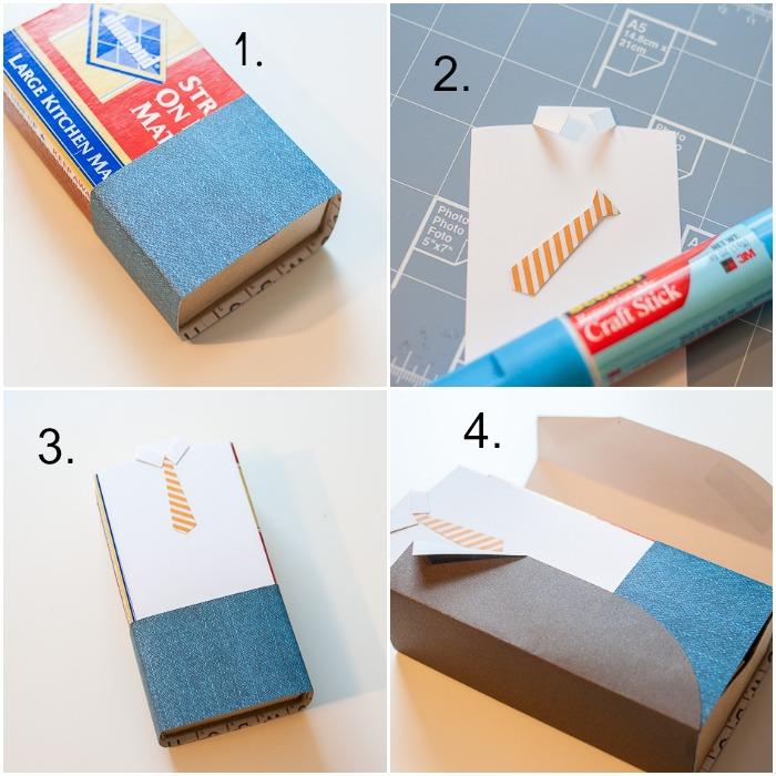Упаковка в технике скрапбукинг своими руками