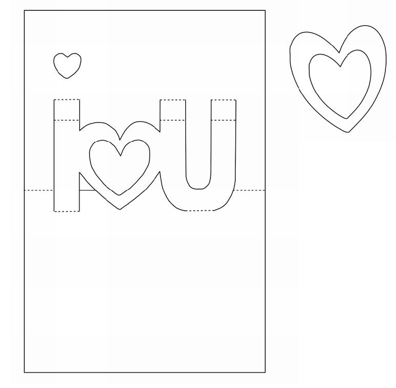 Открытки открытки, объемную открытку шаблоны