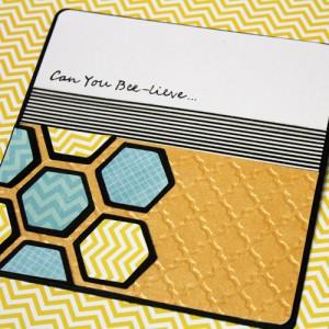 Оригинальная открытка в технике скрапбукинг