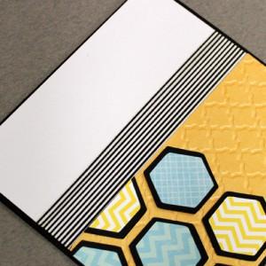 Открытка пчелиные соты своими руками