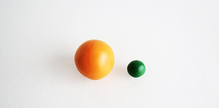 Брелок для ключей-скатайте шарики