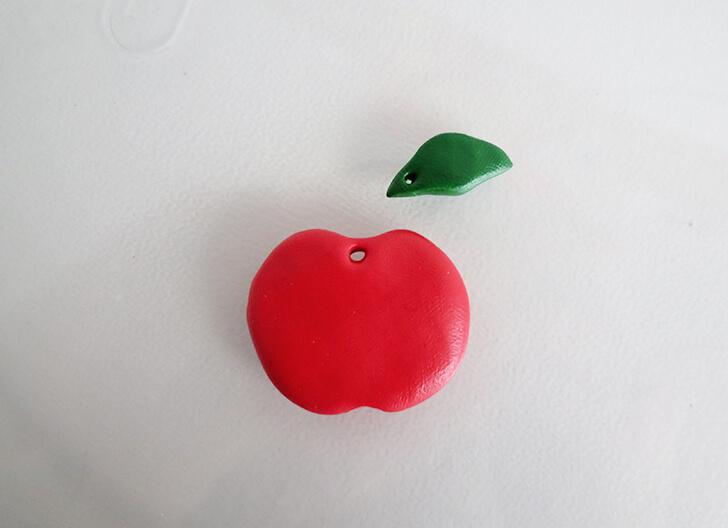 Брелок для ключей-заготовки для яблока