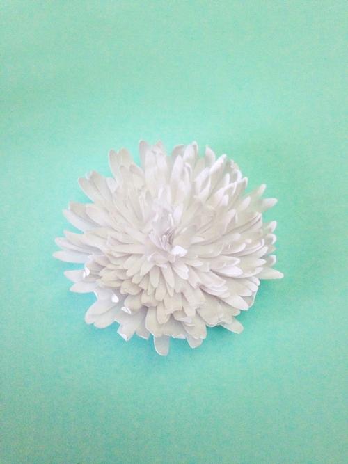 Хризантемы из бумаги-цветок готов