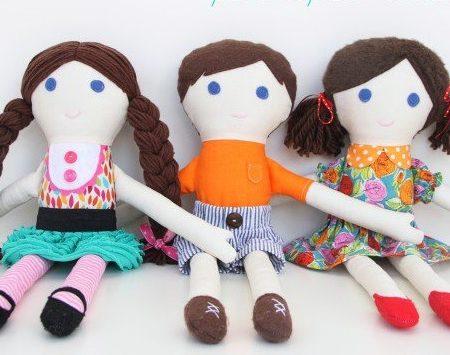 Куклы из лоскутков