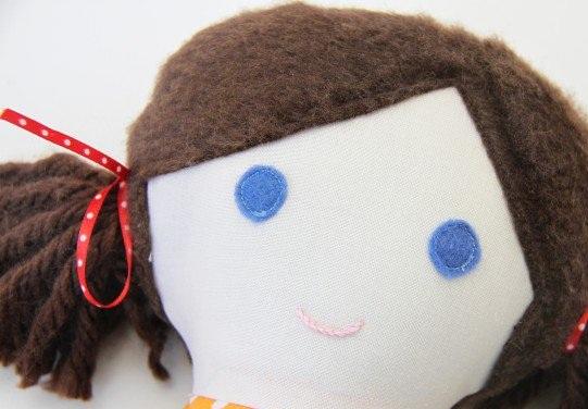 Кукла из лоскутков-10