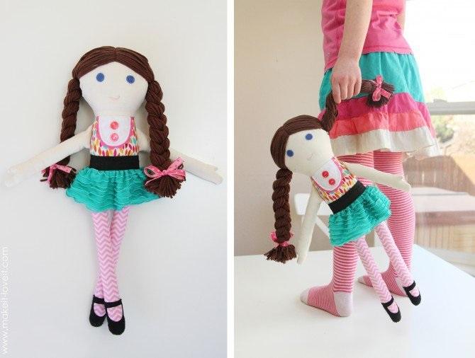 Кукла из лоскутков-28