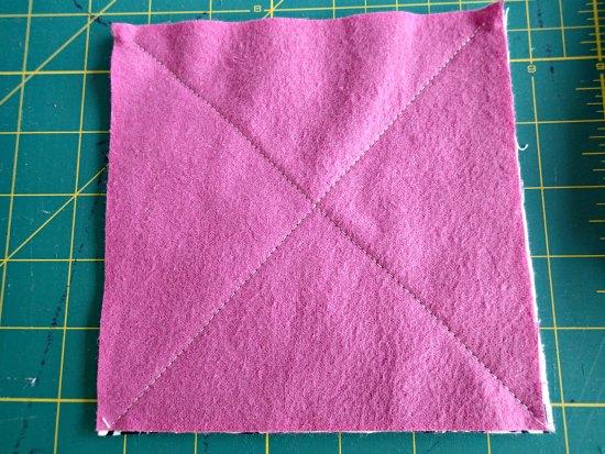 Лоскутное фланелевое одеяло-7