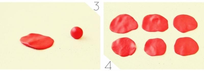 Роза из полимерной глины-делаем лепестки
