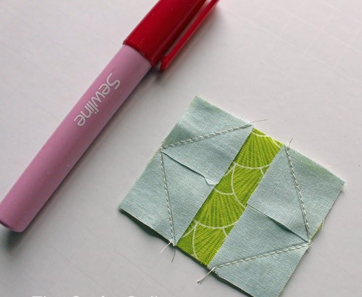 этап изготовления салфетки