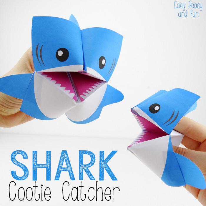 Акула оригами своими руками