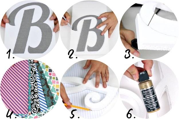 Буквы из пенопласта-вырежьте буквы