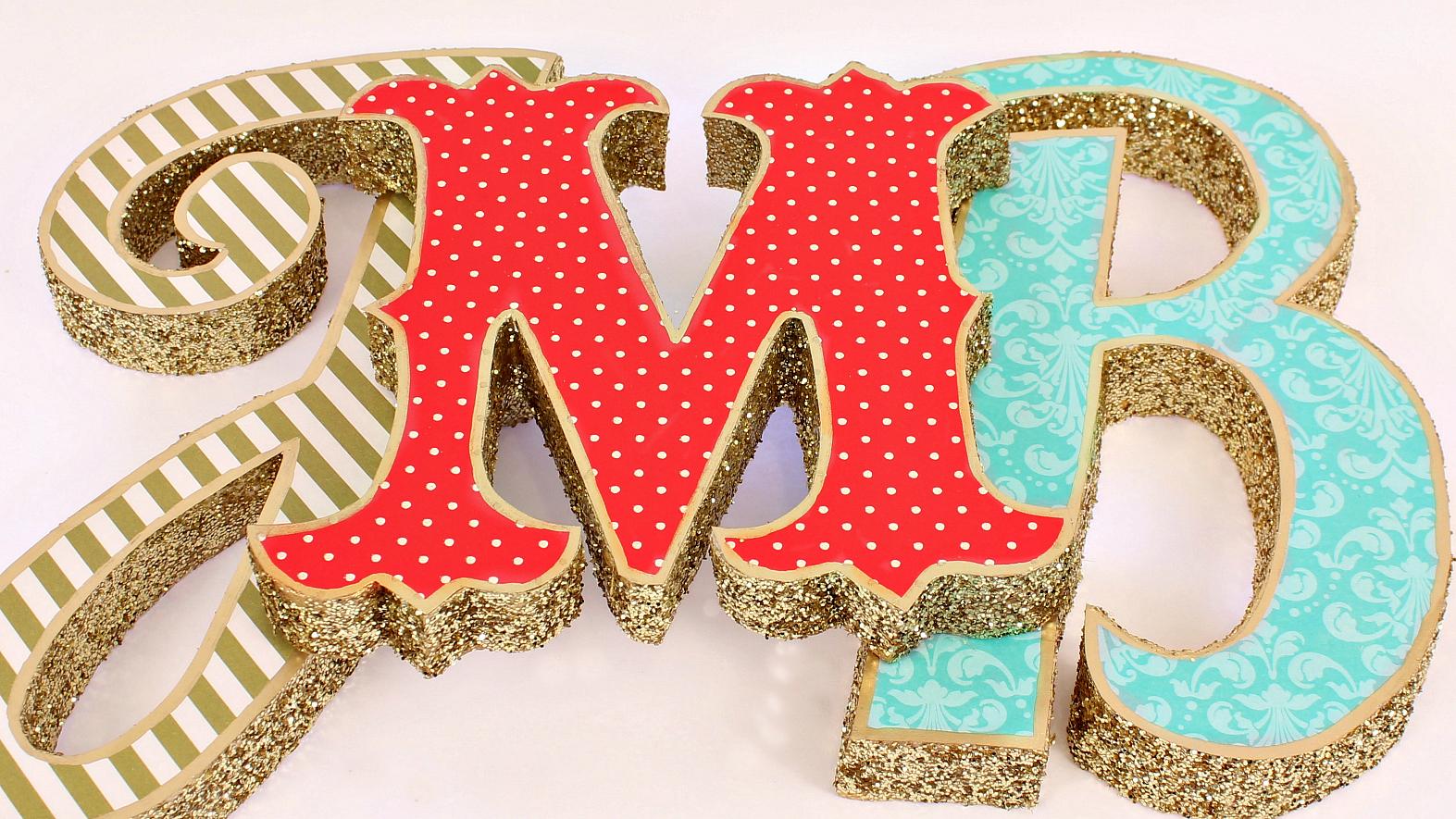 Буквы из пенопласта на свадьбу своими руками