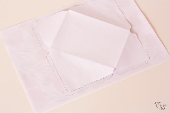 Конверт на свадьбу-приложите шаблон конверта к принту