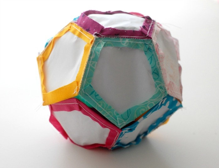 Шьём мяч из ткани