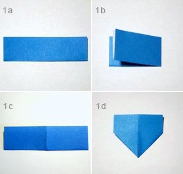 Оригами сова-сверните лист