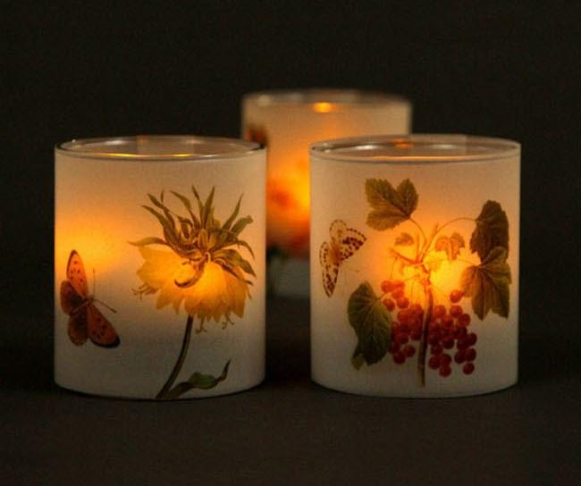 Свечи на свадьбу с подсвечником