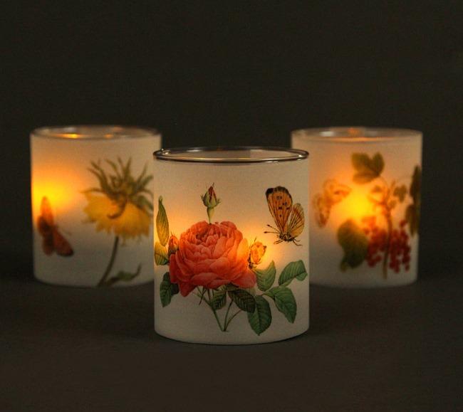 Свечи на свадьбу-в темноте