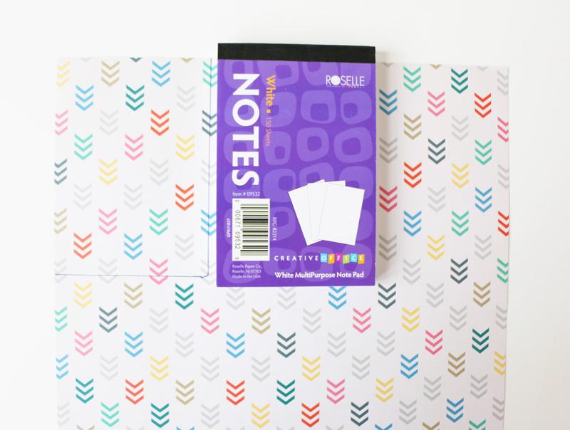 Органайзер из фетра-вырежьте прямоугольник из бумаги