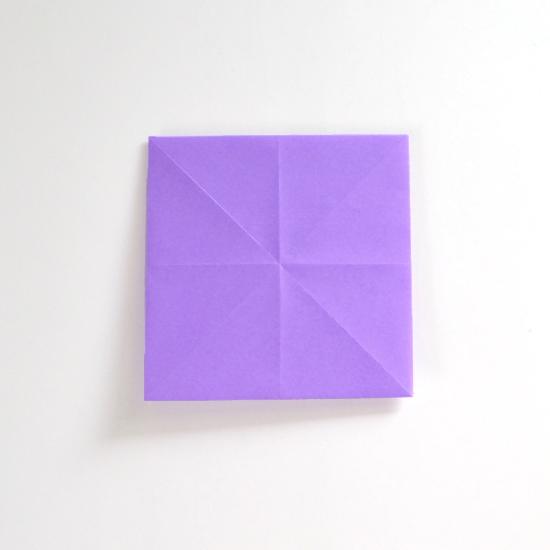 Абажур оригами-переверните поделку