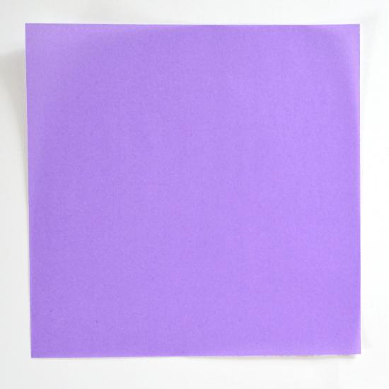 Абажур оригами-порежьте бумагу на квадраты