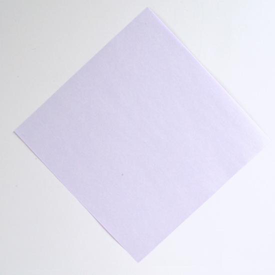 Абажур оригами-поместите квадрат перед собой