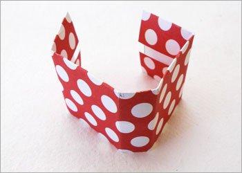 Блокнот оригами-согните бумагу в виде переплета