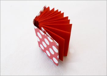 Блокнот оригами-склейте в книжку